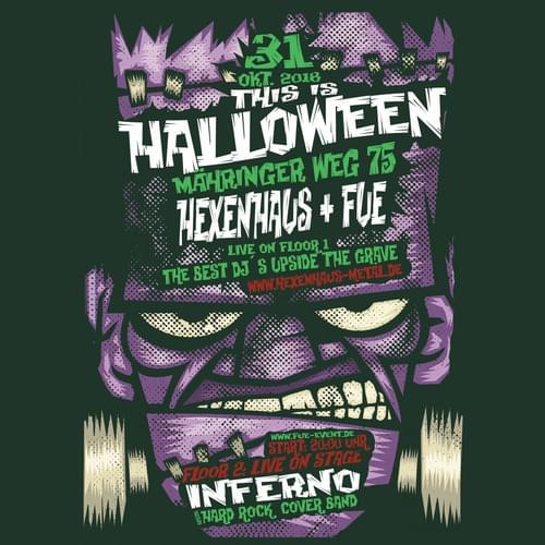 Tickets kaufen für Halloween 2018 mit Inferno und The Best DJs Upside The Grave, powered by FUE-Event am 31.10.2018