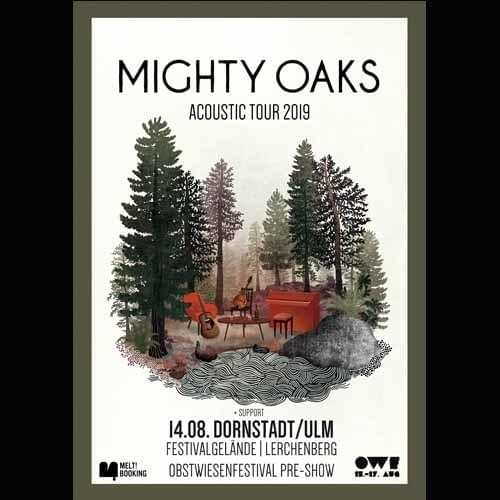 Tickets kaufen für MIGHTY OAKS Acoustic Tour 2019 am 14.08.2019