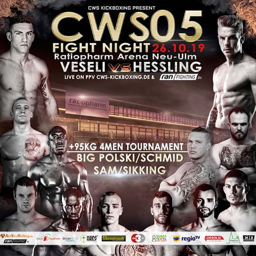 Tickets kaufen für CWS Fight Night 05 am 26.10.2019
