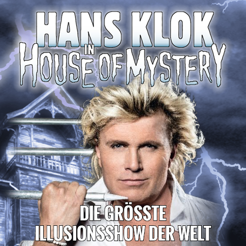 Tickets kaufen für Hans Klok - in House of Mystery  am 06.03.2018
